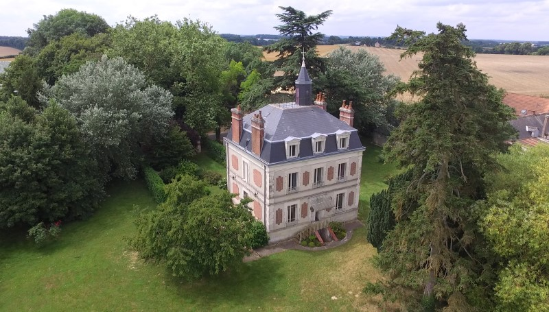 7 bedroom maison de maitre for sale sarthe chateau du loir france - Brocante chateau du loir ...