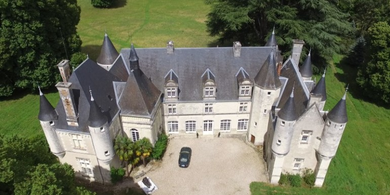 Property For Sale France 11 Bedroom Chateau For Sale Indre