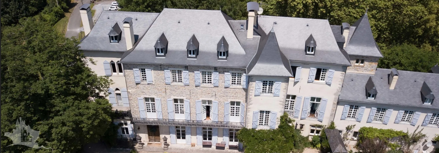 NLEN002038 – No reserve Auction Property – 17 bedroom Chateau and grounds – Pyrénées-Atlantiques